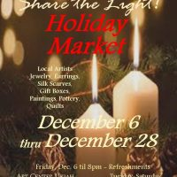 Holiday Market with Small Works