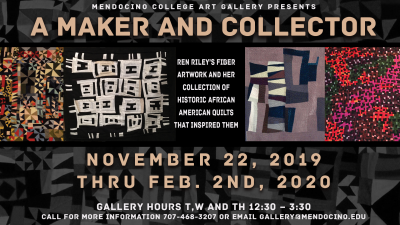 "Ren Riley's ""A Maker and Collector"" Exhibit"