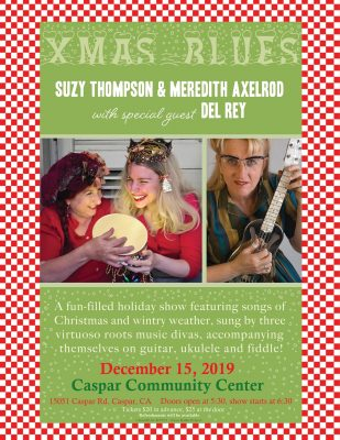 Xmas Blues: Suzy Thompson, Meredith Axelrod, and D...
