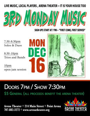 3rd Monday Music: Holiday Jam