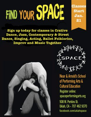 Register for SPACE Performing Arts Winter/Spring C...