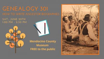 Genealogy 301: How to Write Ancestor Biographies