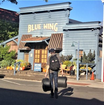 """""""Stevie and the Shufflenuts"""" at Blue Wing Monday B..."""