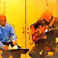 Jazz Vocalist Kenny Washington at Tallman Hotel Concert with Conversation