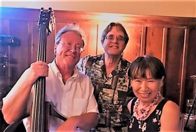 Valentine's Dinner at the Blue Wing with the Majide Trio