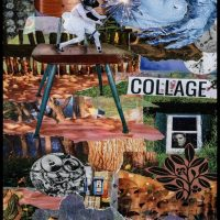 An Exhibit of Collage and Assemblage Art Opening Reception
