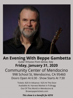 An Evening With Beppe Gambetta
