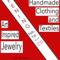 Pop Up Show: Handmade Clothing, Art Inspired Jewelry and Textiles opens February 1 at the WCA