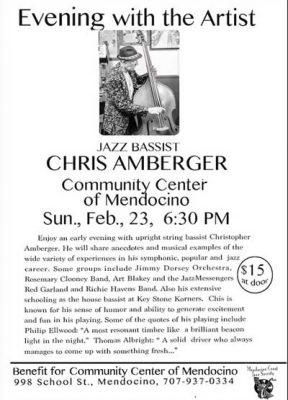 Jazz Bassist Chris Amberger
