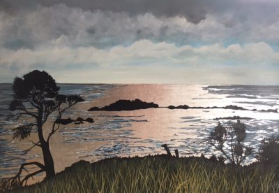 """Button Quinn: """"Sea, Silver and Land"""" GALLERY CLOSED"""