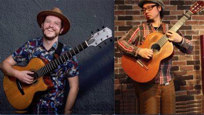 Acoustic Guitar Virtuosos Ryan Ayers and Aki Miyos...