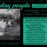 Mendocino College Art Gallery Welcomes Artist Manuel Fernando Rios' Exhibit Everyday People