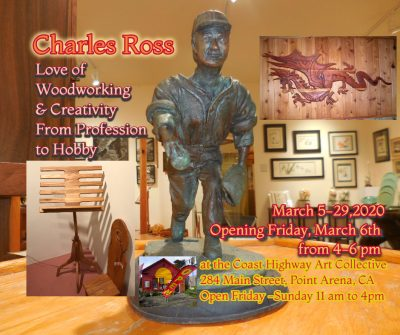 Charles Ross Love of Woodworking & Creativity ...