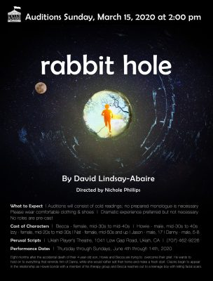Auditions - Rabbit Hole, March 15, 2020