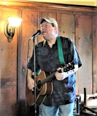 Guitarist Chris Forshay at Blue Wing Sunday Brunch...