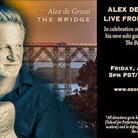 Alex de Grassi - Live Stream from SPACE Theatre