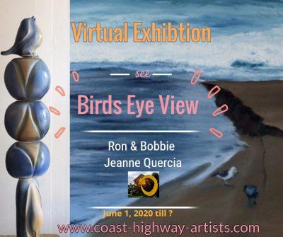 "Coast Highway Art Collective Virtual Gallery ""Bird..."