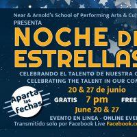 """SPACE Presents """"Noche De Estrellas"""" Via Facebook Live"""
