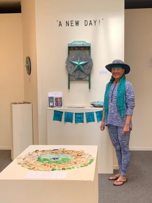 "Artist Virginia Ray presents ""A New Day"", art created during Shelter in Place"