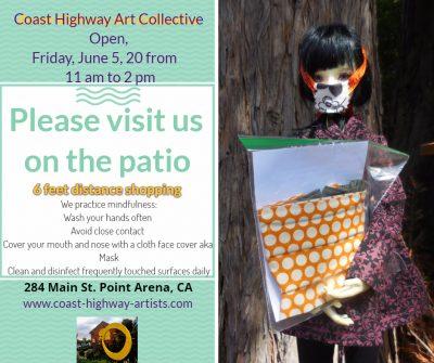 Coast Highway Art Collective stage 2 social distan...