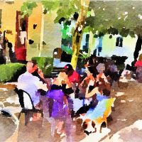 Barrish & Williams Play at Blue Wing Outdoor Brunch Service