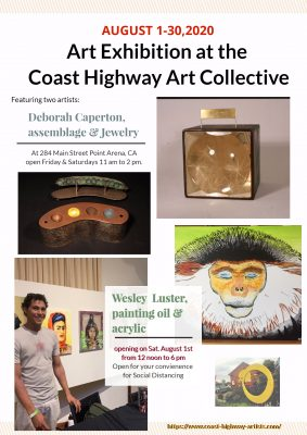 Art Exhibition at the Coast Highway Art Collective...