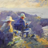 Mendocino Open Paint Out Retrospective Online Exhibition