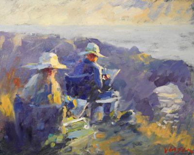 Mendocino Open Paint Out Retrospective Online Exhi...