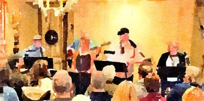 """""""Good Measure"""" Quintet Plays at Blue Wing Sunday B..."""