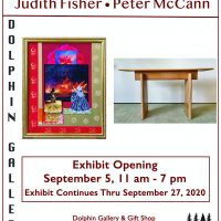 In Paper and Wood: Judith Fisher & Peter McCann. A New Exhibit at Dolphin Gallery & Gift Shop.