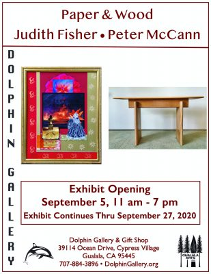 In Paper and Wood: Judith Fisher & Peter McCan...