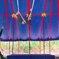 Flynn Creek Circus Halloween Circus Camp in Mendoc...