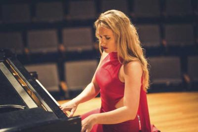 UCCA Presents Pianist Lindsay Garritson Virtual Re...