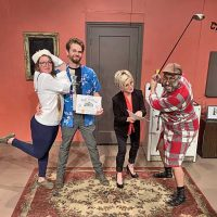 """Death By Golf"" Halloween Fun from Willits Community Theatre"