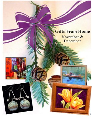 "Corner Gallery ACU ""Gifts From Home"" Call to Artists"