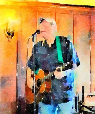 Chris Forshay Plays at Blue Wing Supper Service