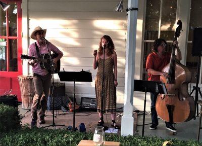 Roseanne Wetzel Trio at Blue Wing Sunday Brunch