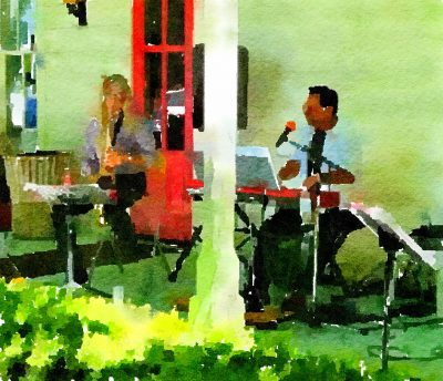 Andy Rossoff Trio at Blue Wing Sunday Brunch