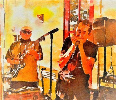 Bluesfarm Trio at Blue Wing Monday Blues