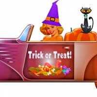 Drive-Through Halloween Trick or Treat at Gualala Arts