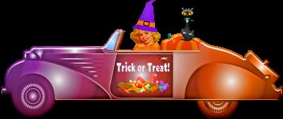 Drive-Through Halloween Trick or Treat at Gualala Arts