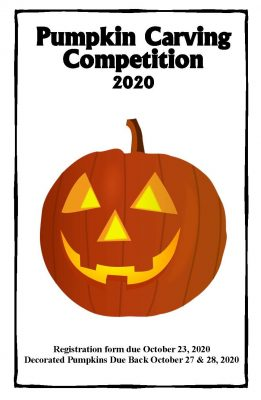 The 2020 Pumpkin Carving Competition at Gualala Ar...