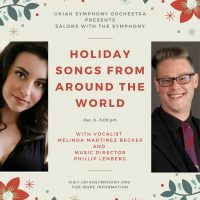Salons with the Symphony: Holiday Songs From Around The World
