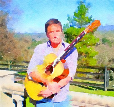 Steve Winkle Plays at Blue Wing Sunday Supper