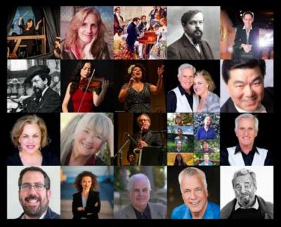 Mendocino Music Festival Encore 2020 Zoom programs