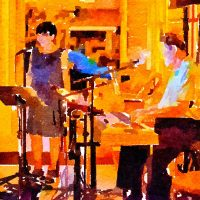 """Majide"" Duo at Blue Wing Outdoor Supper Service"