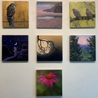 """Transitions"" Featured Member Small Works Show: 100% Project Sanctuary Benefit"