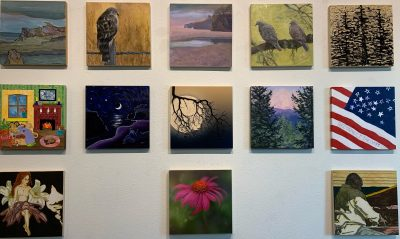 """""""Transitions"""" Featured Member Small Works Show: 100% Project Sanctuary Benefit"""