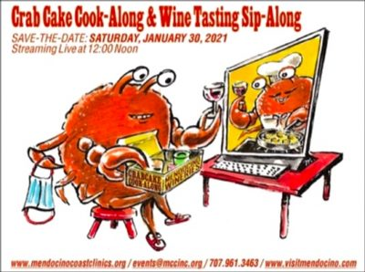 Crab Cake Cook-Along & Wine Tasting Sip-Along