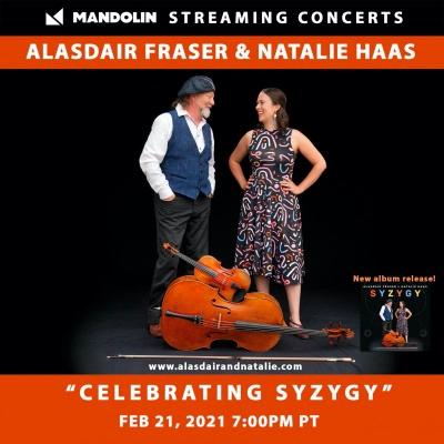 Alasdair Fraser and Natalie Haas: A livestream concert